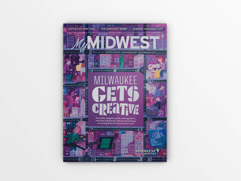 """My Midwest Magazine Cover Feature: """"Milwaukee Gets Creative"""""""