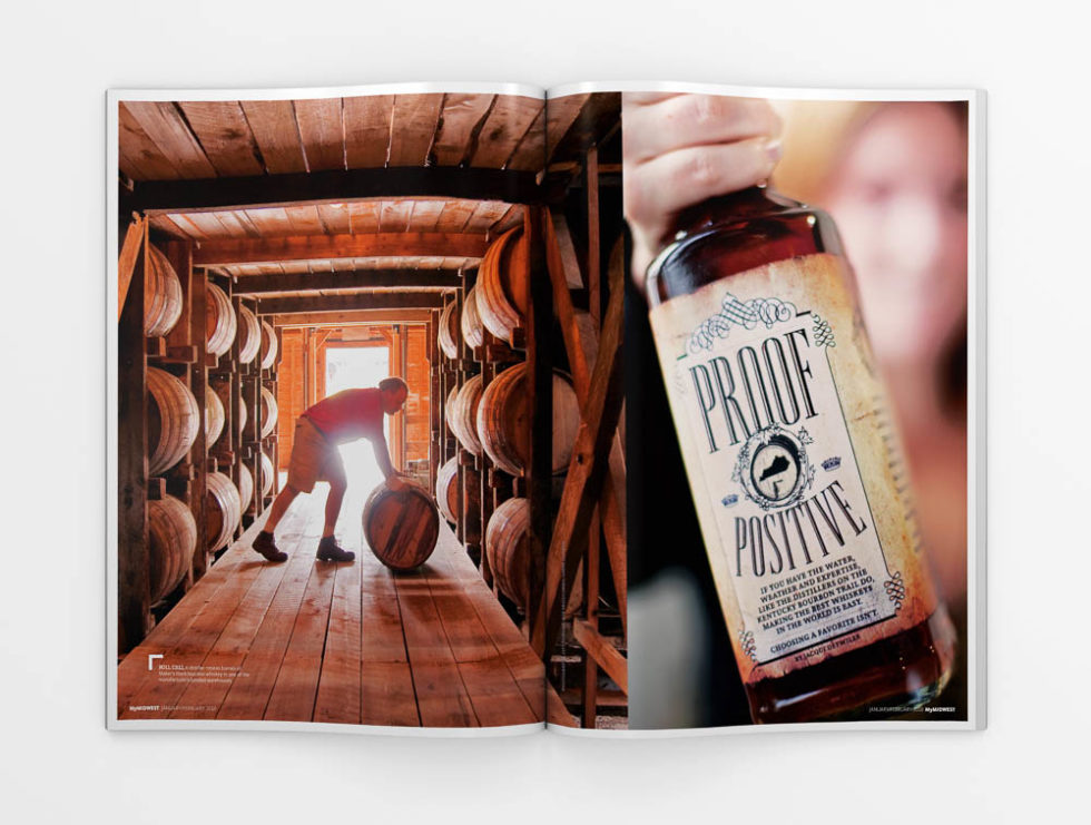Magazine spread from MyMIDWEST