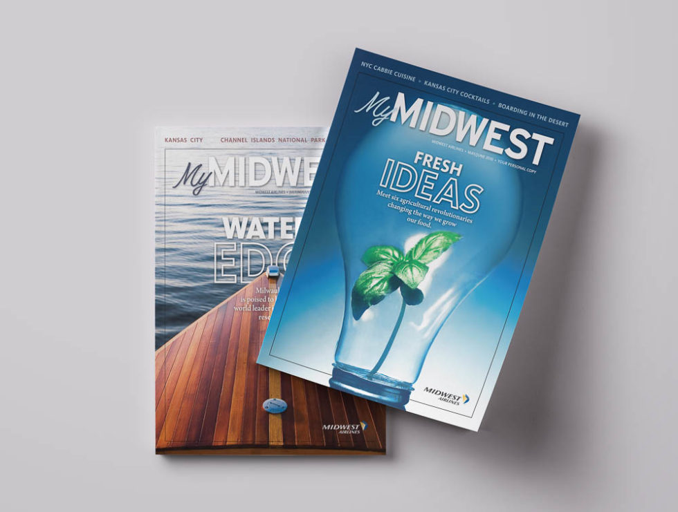 Covers from MyMIDWEST Magazine
