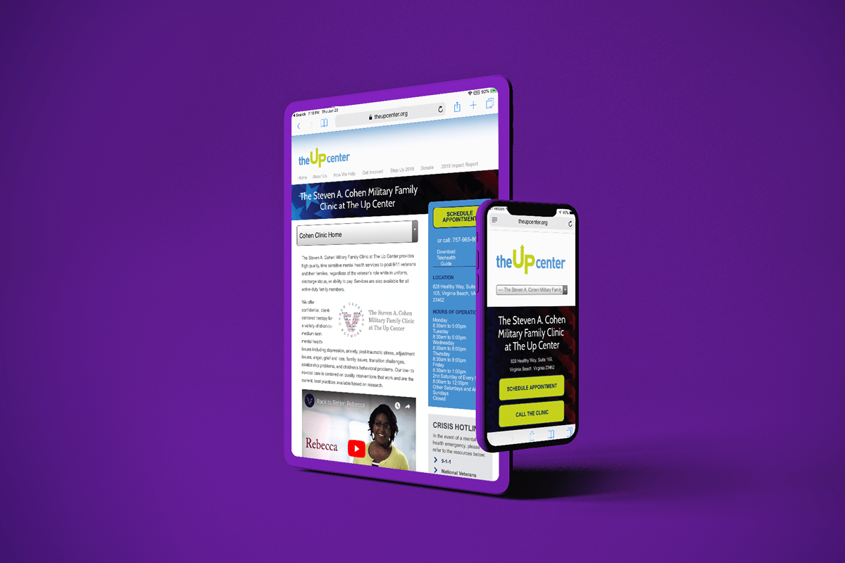 The Up Center Cohen Clinic Site Responsive